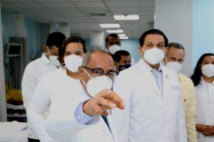 Visita del Ministro de Salud Pública Al Hospital Alejandro Cabral