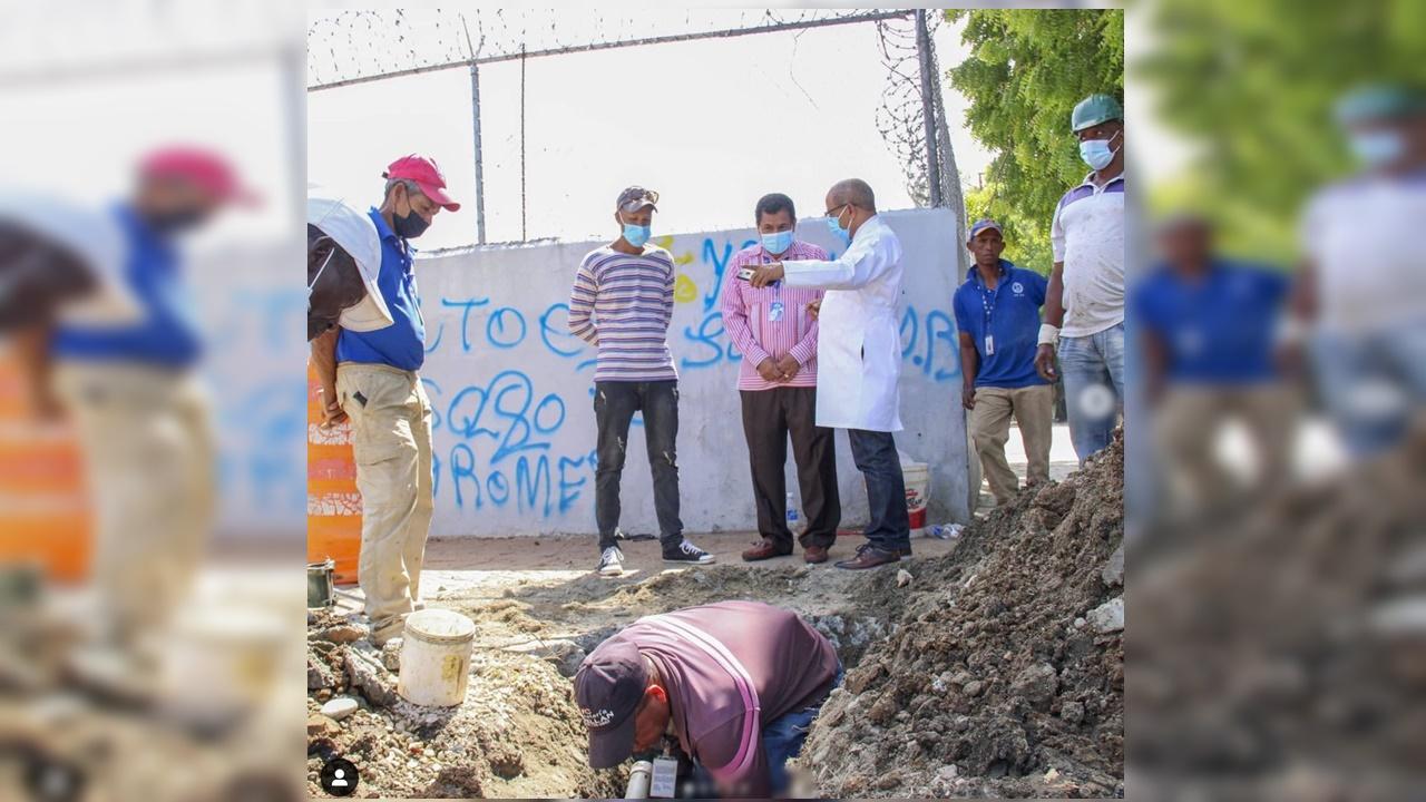 Hospital Alejandro Cabral y el INAPA mejoran suministro de agua para servicios internos.